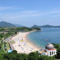 県立県民の浜海水浴場