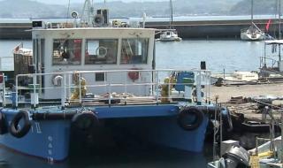 海上清掃船